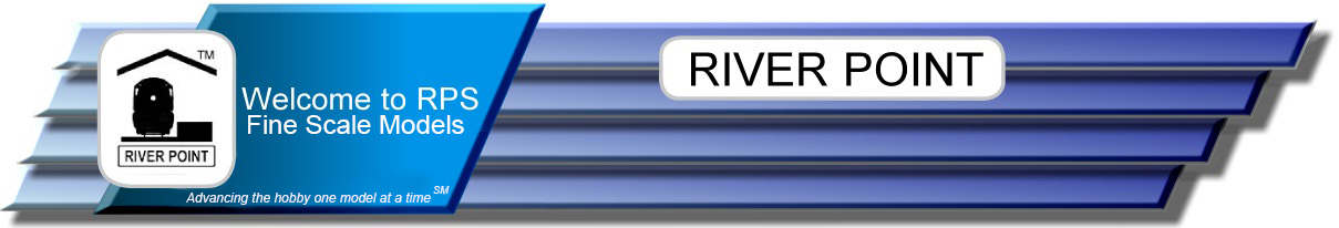 Manufacturer of fine ho scale models for Riverpointe